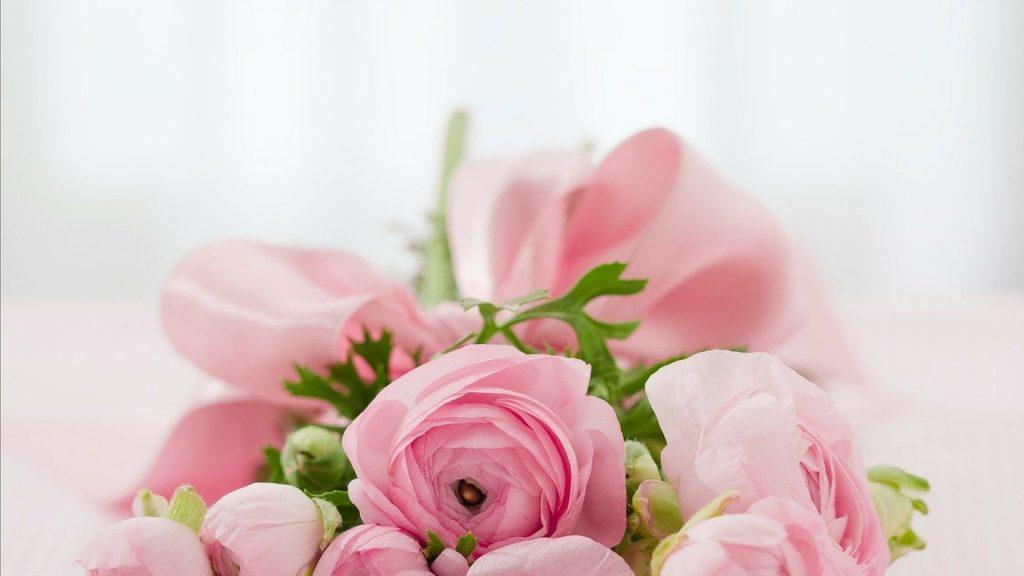 Que symbolisent le rouge et le blanc pour un bouquet ?